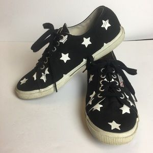 SUPERGA Star canvas sneakers